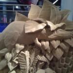 Dino Sand Art